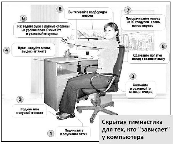 Скрытая гимнастика воробьева видео